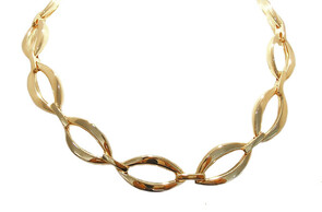 9ct gold neckpiece, Marc Bendall, jewellers, Christchurch