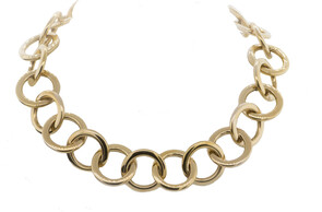 9ct yellow gold chains, Marc Bendall, Chch jewellery designers