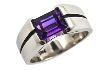 Gemstone rings, Marc Bendall, Christchurch jewellers